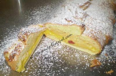 Treccia mochena ricetta dolce