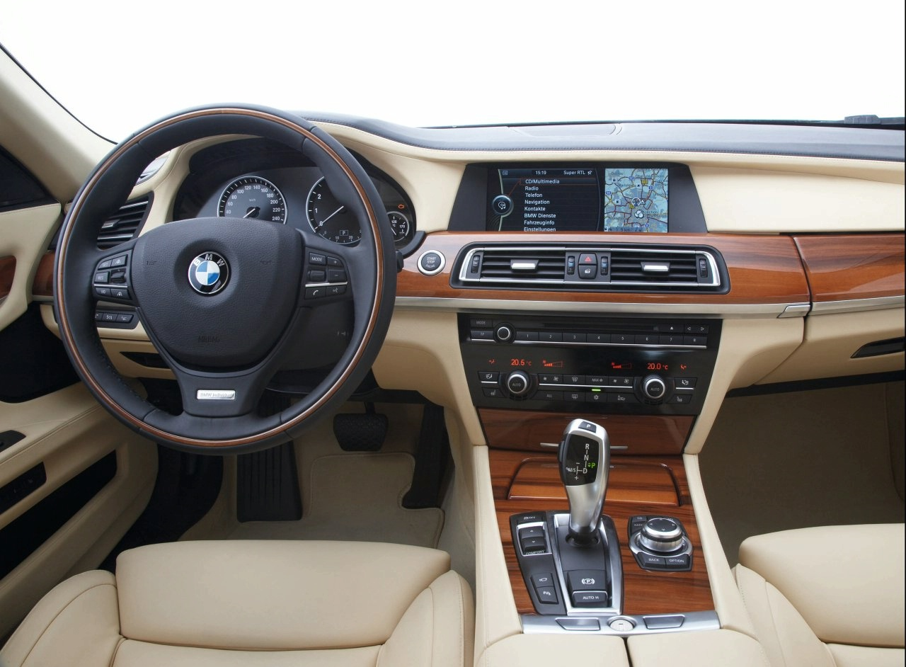 Cool cars bmw 7 series interior for Bmw serie 7 interieur