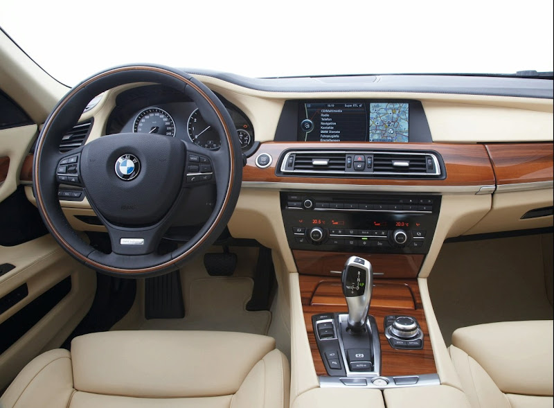 BMW 7 Series Interior title=