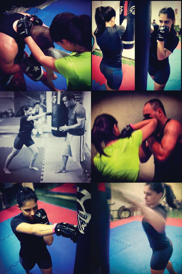 treino feminino mma - esporte - vida saudavel - brabara urias