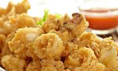 resep praktis (mudah) memasak cumi goreng tepung crispy spesial enak, renyah, gurih, lezat