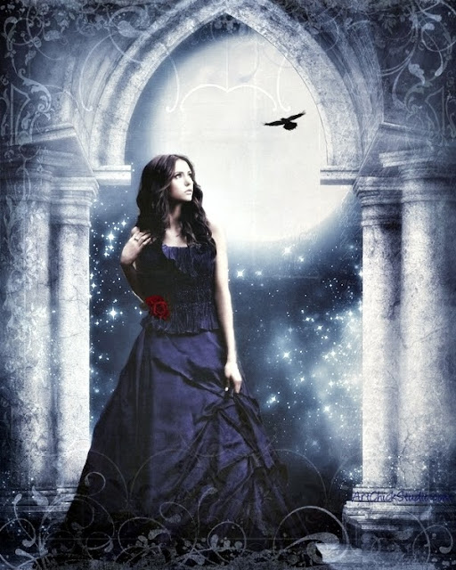 Elena by Moonlight TVD Digital Art