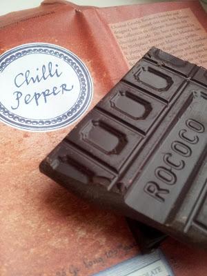 Rococo chocolate, artisan chocolate, chilli