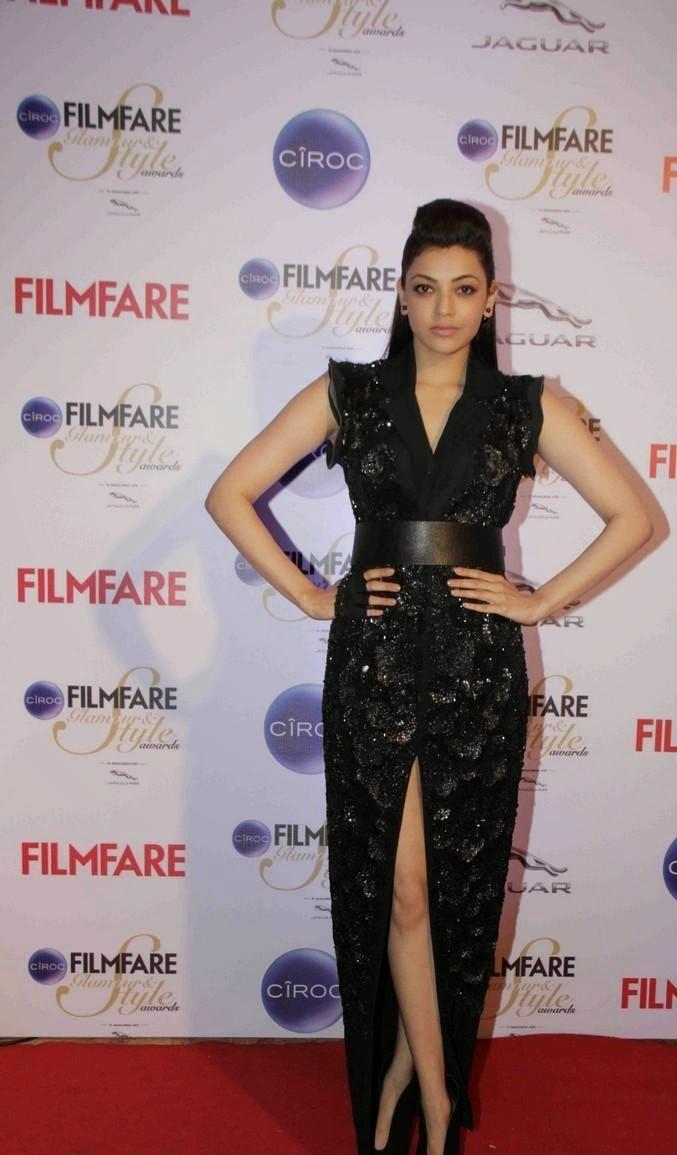 Kajal Aggarwal at ciroc filmfare glamour & style awards