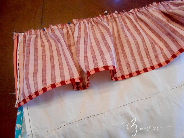 Ruffle Apron Tutorial at my3monsters.com