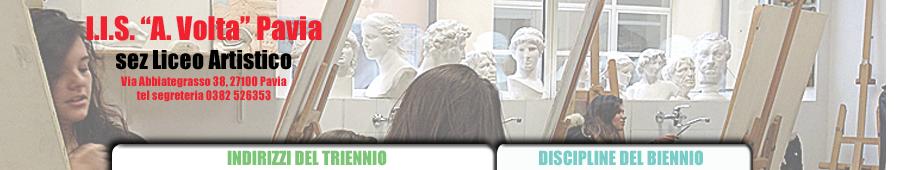 """Istituto d'Istruzione Superiore """"A. Volta"""" sez Liceo Artistico - Pavia"""