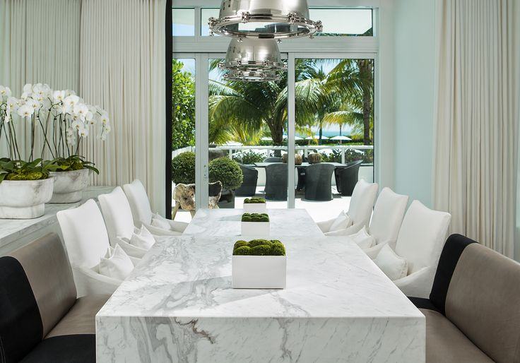Life And Chanel Dining Room Inspiration - Restoration hardware marble dining table