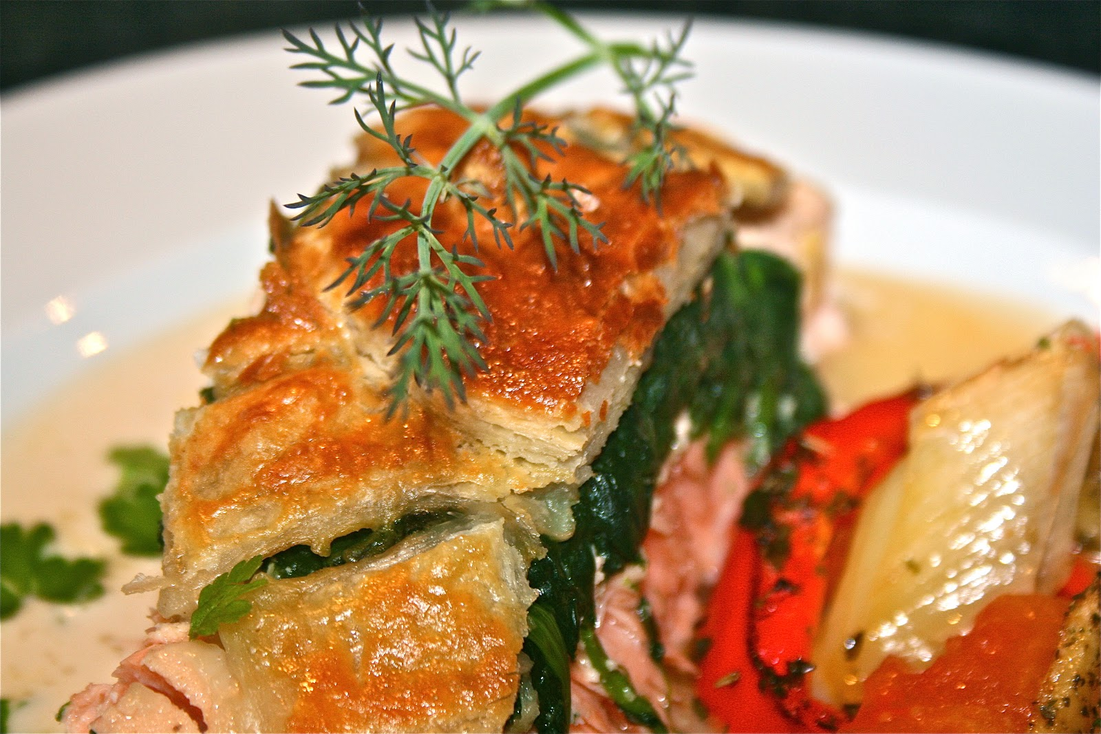 Johnny's Kitchen: Salmon en Croute