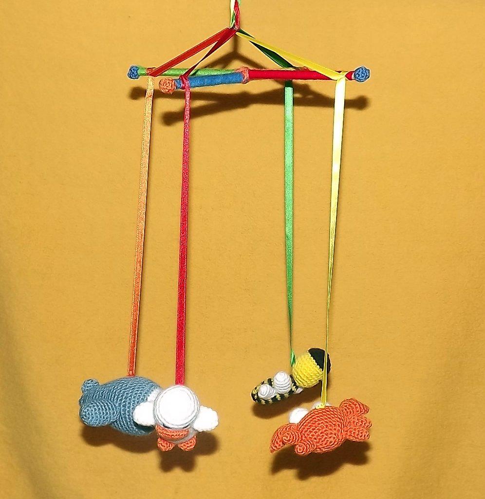 Como hacer un movil de bebé - Imagui