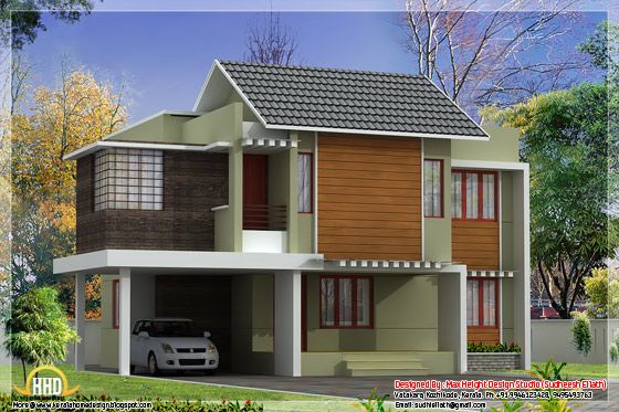 Beautiful Indian home elevation #03