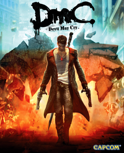 DmC: Devil May Cry Cover Game Image