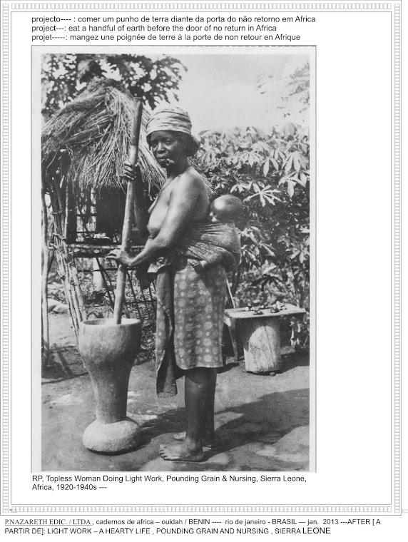 CA- projet:magez la terre - OUIDAH / BENIN - RJ / BRASIL