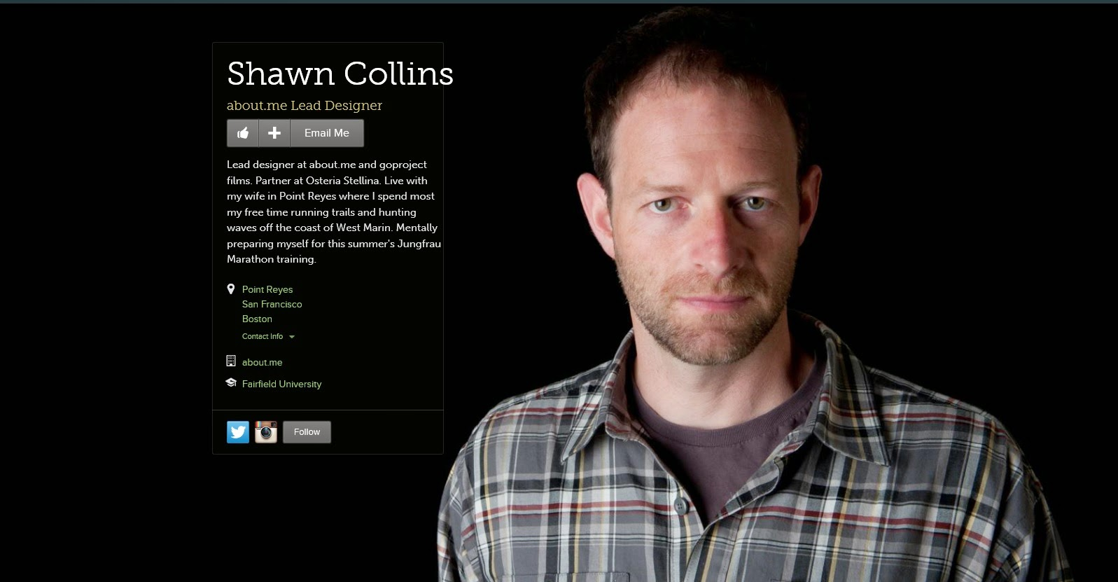 An image of Shawn Collins, Lead Designer