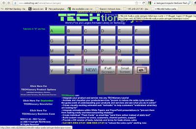 Gambar 1. Tampilan depan kamus Jaringan komputer