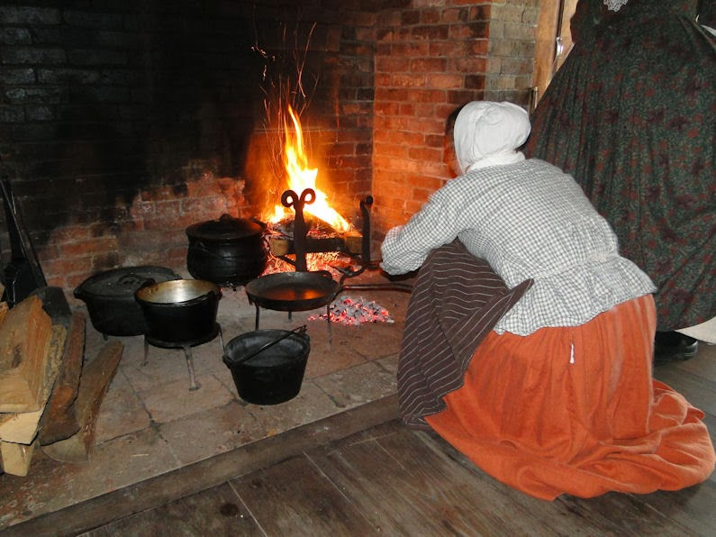 Passion for the Past: Cooking on the Hearth - The Colonial Kitchen