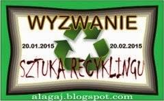 Wyzwanie sztuka recyklingu