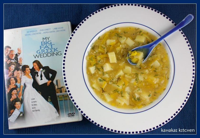 Leek Soup With Lemon And Dill Recipe — Dishmaps