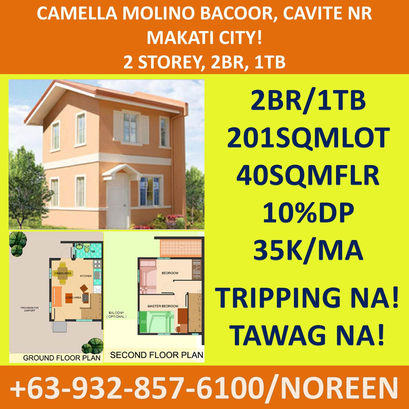 Home Of Your Rent To Own Information Center In The Philippines Camella Molino Bacoor Near