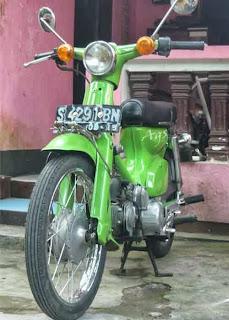 Spesifikasi Honda C70