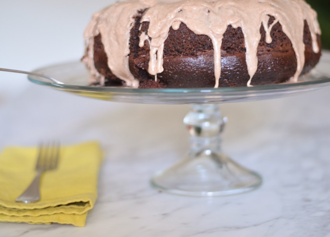 Mexican Chocolate Cake + Cinnamon Glaze | Luci's Morsels