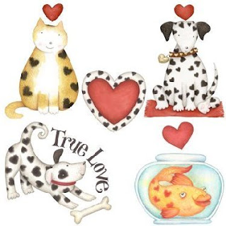 Animales domesticos para imprimir