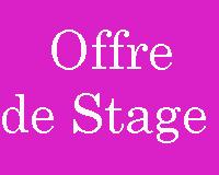 Offre de Stage dans le domaine de commerce ou de secrétariat