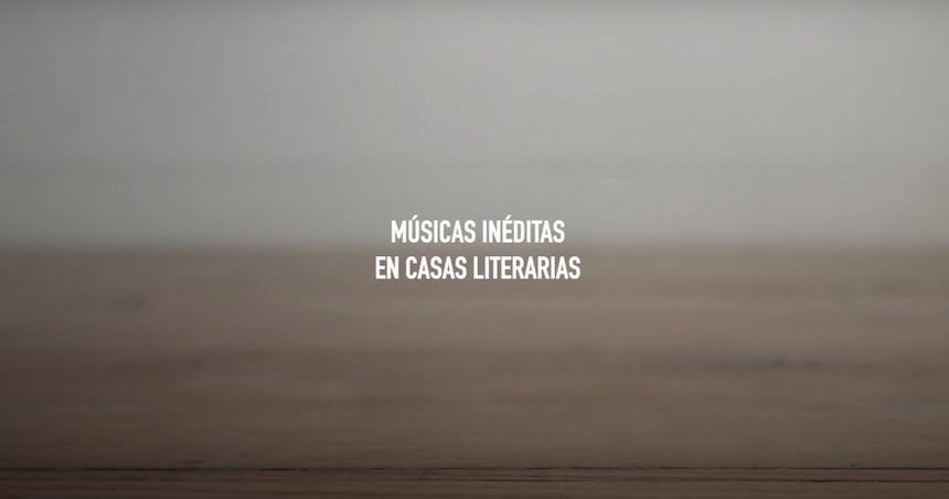 Músicas inéditas en Casas Literarias