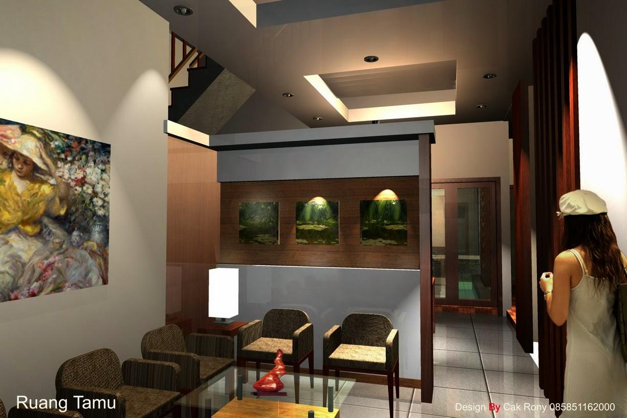 desain ruang tamu modern desain properti indonesia