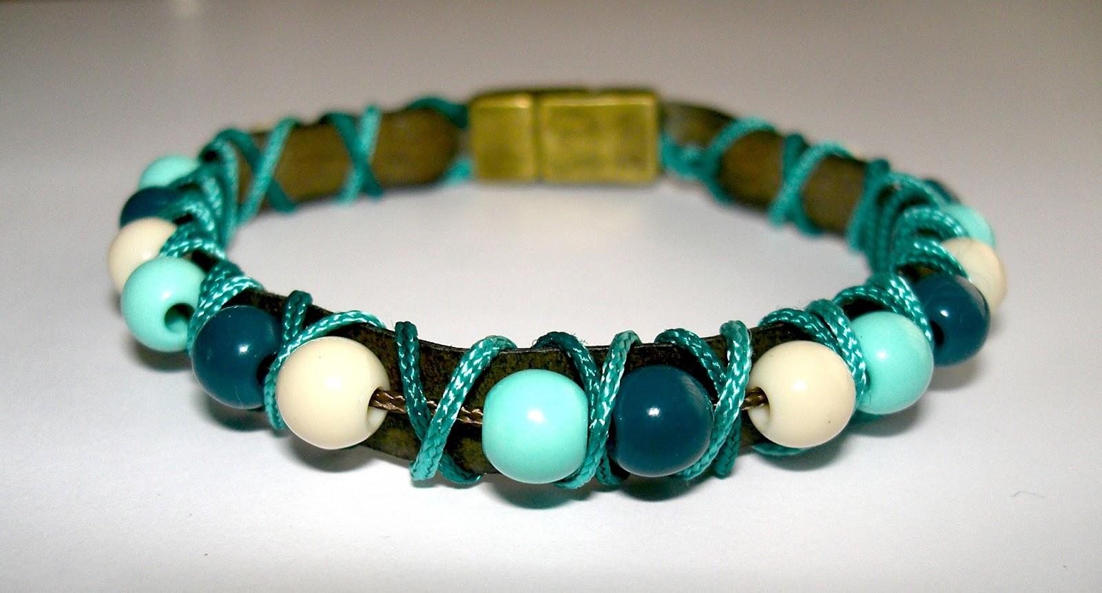 Gabulle in wonderland petit bracelet turquoise pour l 39 t - Bracelet a faire soi meme ...