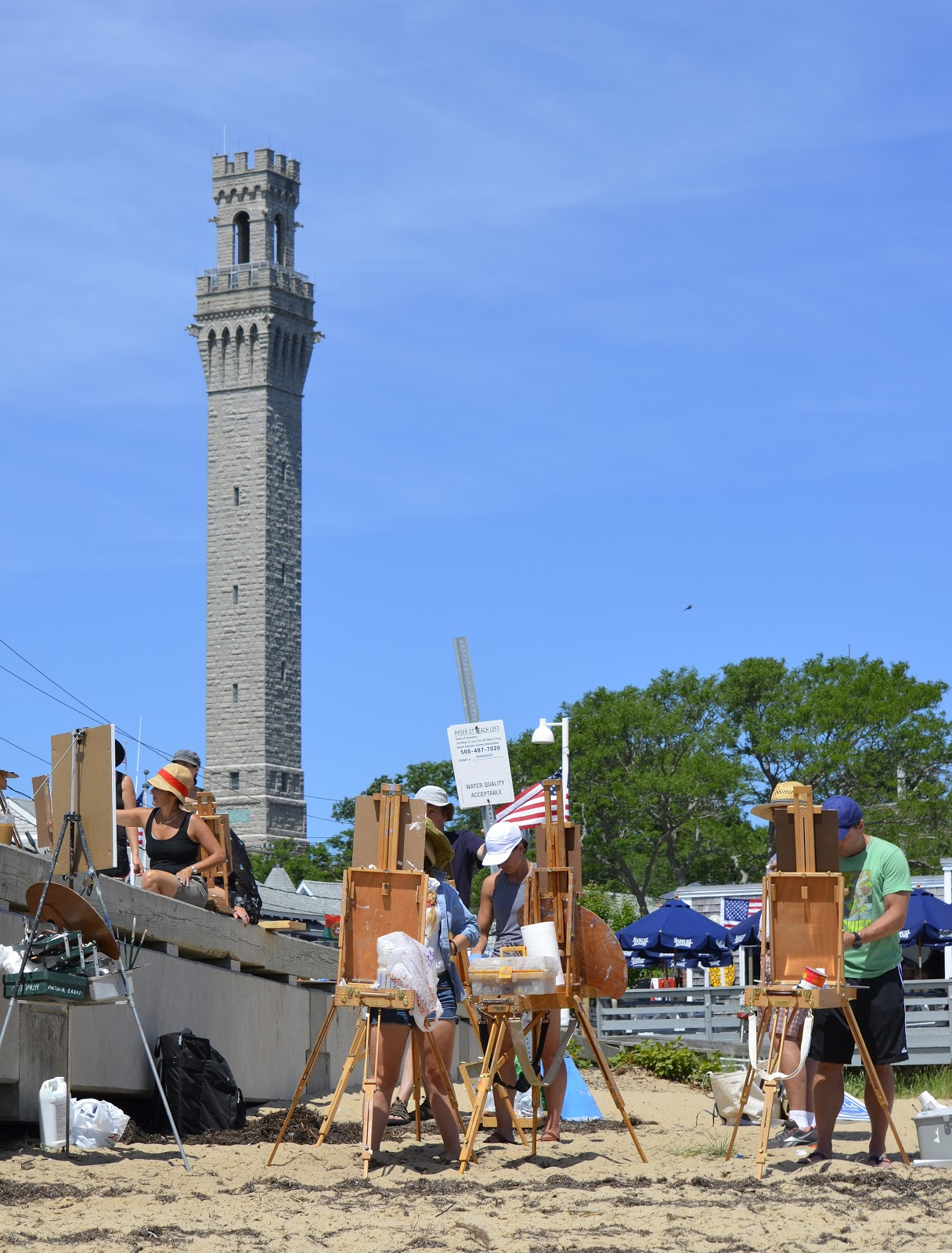 What are the facts and history on the provincetown monument?