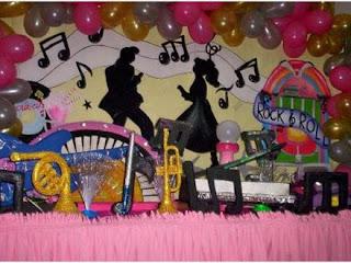 Decoração para Festa Anos 60