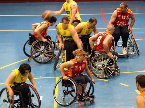 Educaci n f sica en la red baloncesto en silla de ruedas superaci n al l mite - Baloncesto silla de ruedas ...