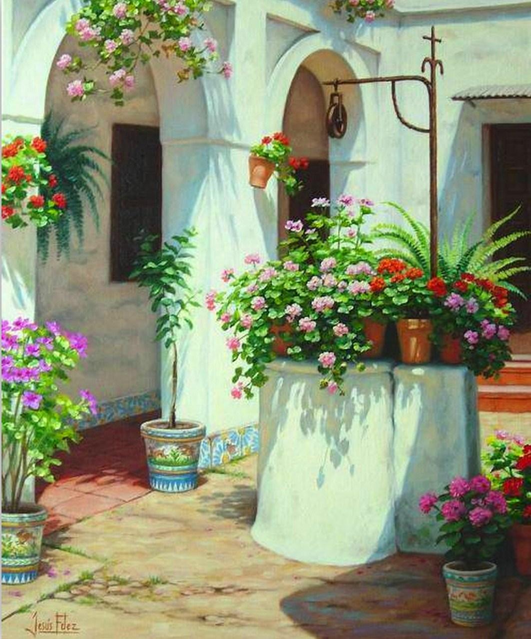 Im genes arte pinturas nuevos paisajes hiperrealistas con - Lienzos decorativos ...