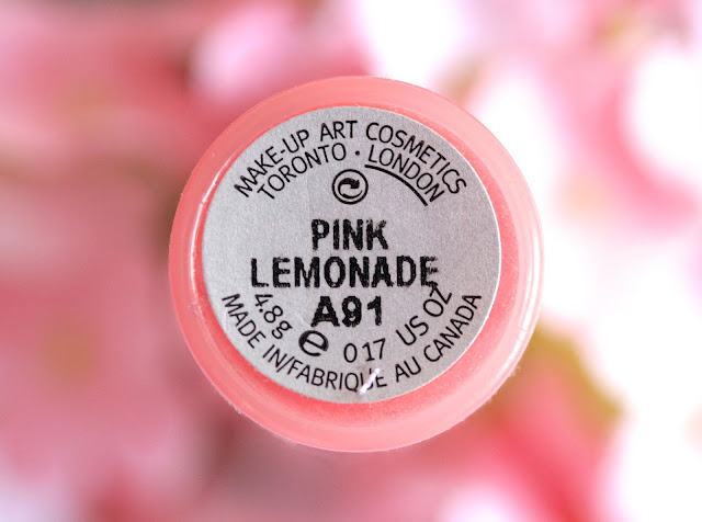MAC Lipglass in Pink Lemonade