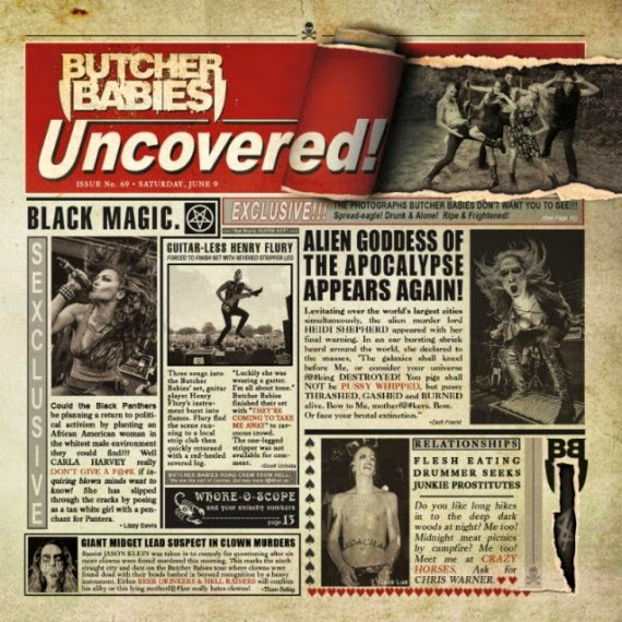 Butcher Babies - Uncovered - ep