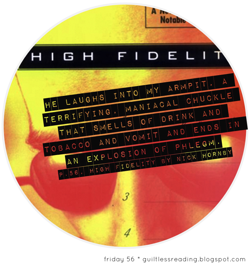 guiltless reading: High Fidelity by Nick Hornby