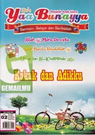 Majalah Anak Islam Yaa Bunayya Edisi 02 Vol 1 1435 H-2014