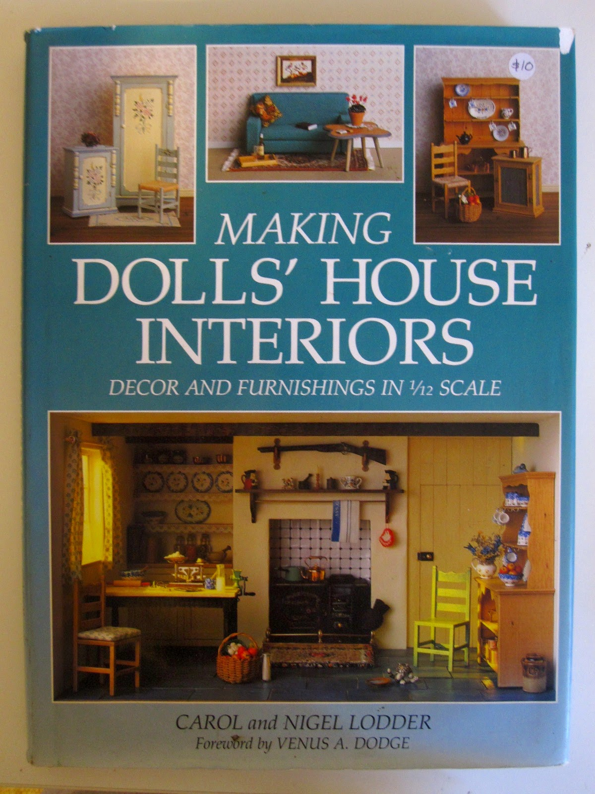 'Making dolls' house interiors' book