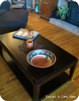 Fall Coffee Table