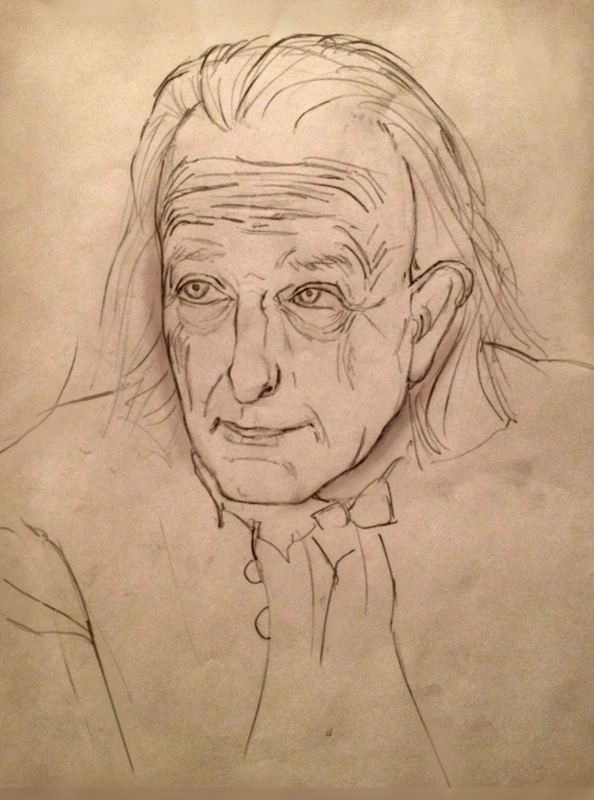 Man S Face Line Drawing : Kevin jick design art bonanza end of first term