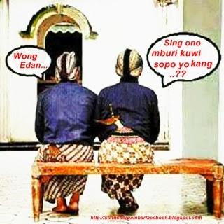Sing mburi wong Edan