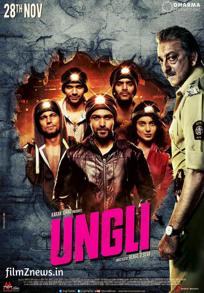Ungli (2014) Bollywood Movie Official Poster