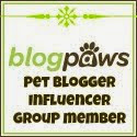 I'm a BlogPaws Pet Blogger Influencer