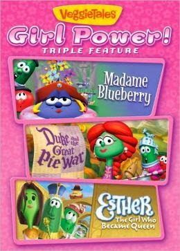 VeggieTales Girl Power Triple Feature DVD cover