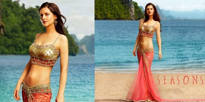 Seasons Designer Wear Hot Saree Designs For Ladies
