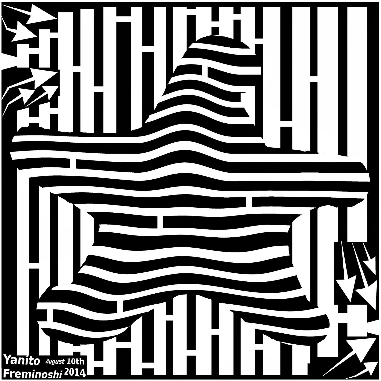 maze of a starfish
