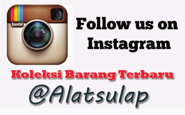 follow intagram@alatsulap