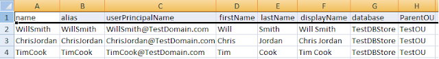 Create Bulk Mailbox AD Users from CSV file using Powershell