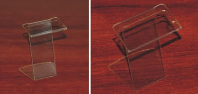 Cenówka z plexi - model CC2