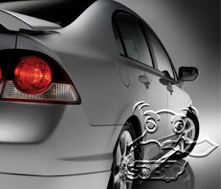 Tips menyamarkan gores pada cat mobil